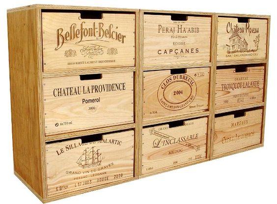 Riciclare le casse di vino e arredare casa idee creative