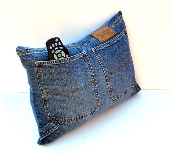 Famoso Riciclare jeans per arredare casa! 20 idee creative KE73