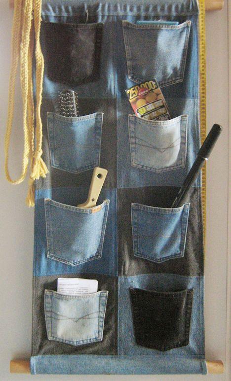 riciclo creativo jeans 6