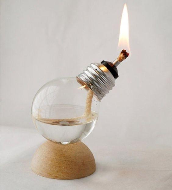 riciclo creativo lampadine a incandescenza 1