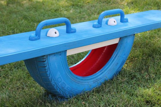 riciclo creativo pneumatici 2