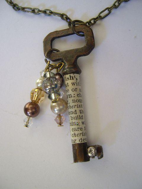 riciclo creativo vecchie chiavi 17
