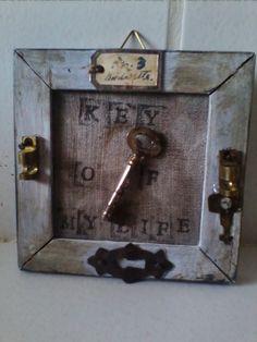 riciclo creativo vecchie chiavi 19