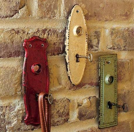 riciclo creativo vecchie chiavi 3