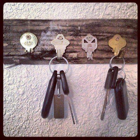 riciclare le vecchie chiavi