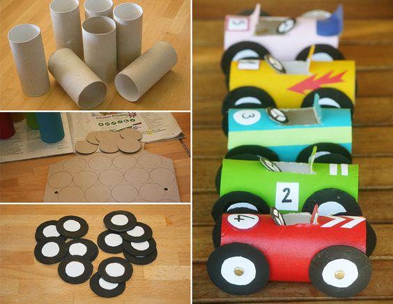 riciclo rotoli carta igienica 10