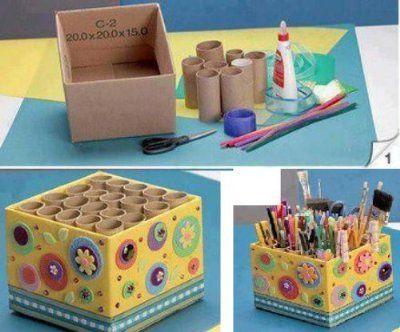 Rotoli Di Carta Igienica Riciclo : Riciclare i rotoli di carta igienica e creare con i bambini