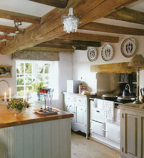 Rustic French Country Kitchen Decor