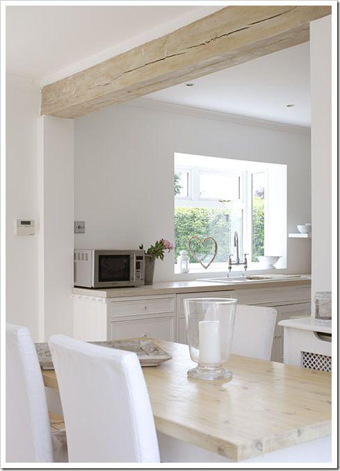Cucina moderna pavimento cemento bianco una collezione for Harte arredamenti