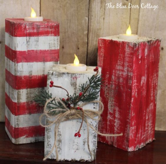 Christmas decorations with candles! Here are 20 creative ideas ...