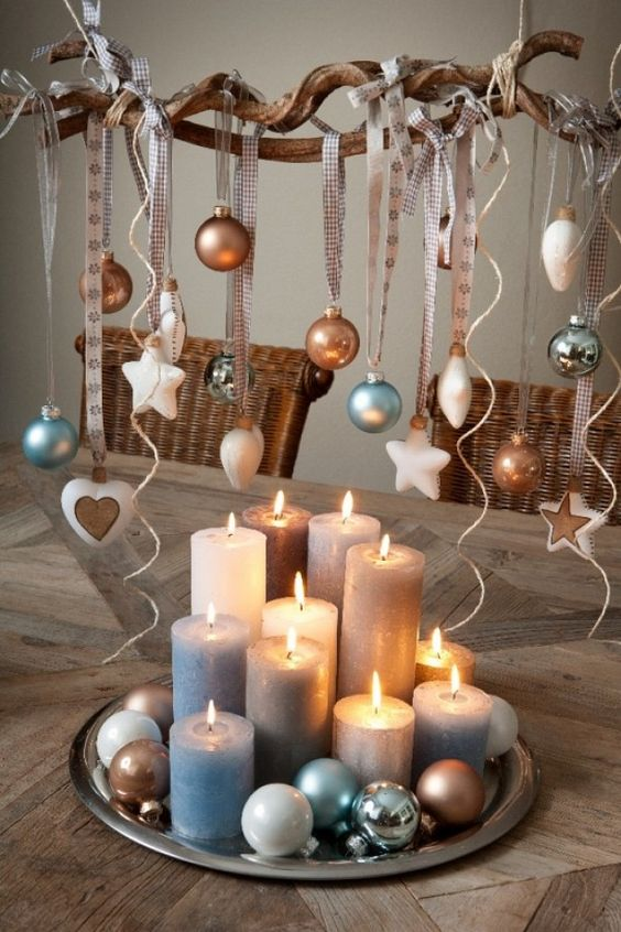 Decorazioni natalizi con le candele ecco 20 idee creative for Dekoration und display