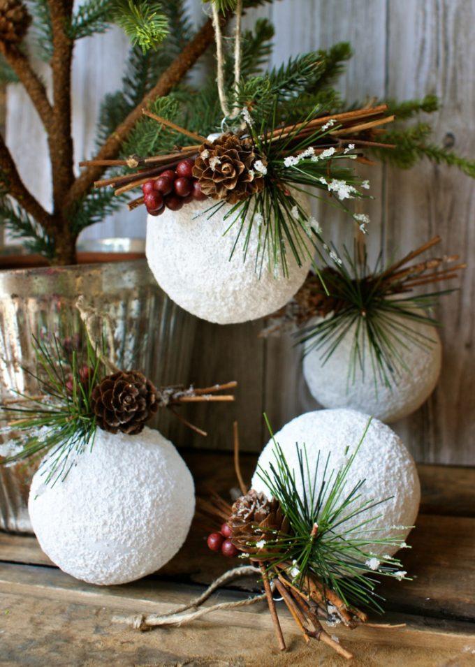 Popolare Decorazioni fai da te per l'albero di Natale! 20 idee + Tutorial PQ51
