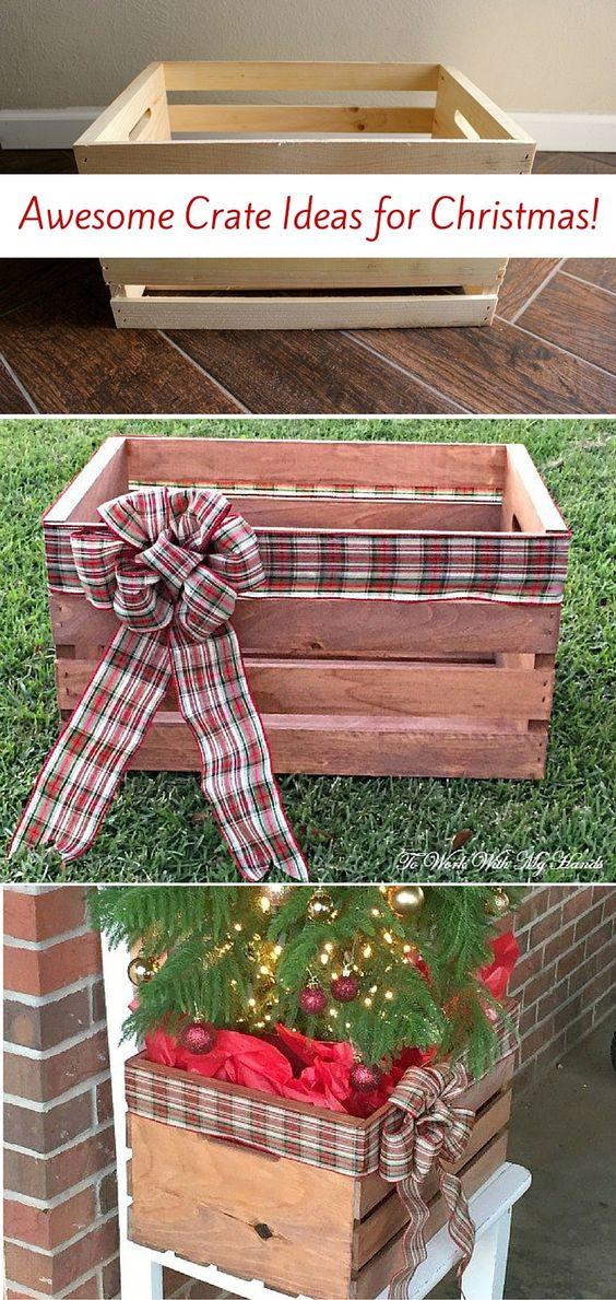 Idee natalizie con pallet e cassette di legno ecco 20 for Idea design casa