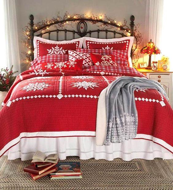 decorazione-natalizie-letto-8