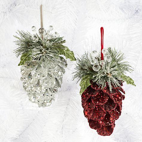 Decorazioni natalizie con le pigne ecco 20 idee creative - Decorazioni natalizie moderne ...