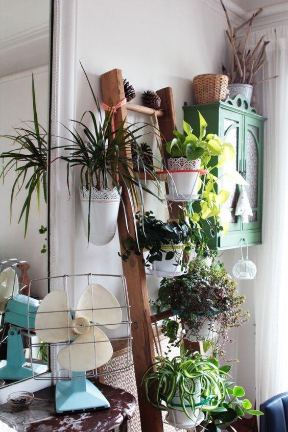 Decorare una scala con le piante ecco 20 idee for Idea design casa