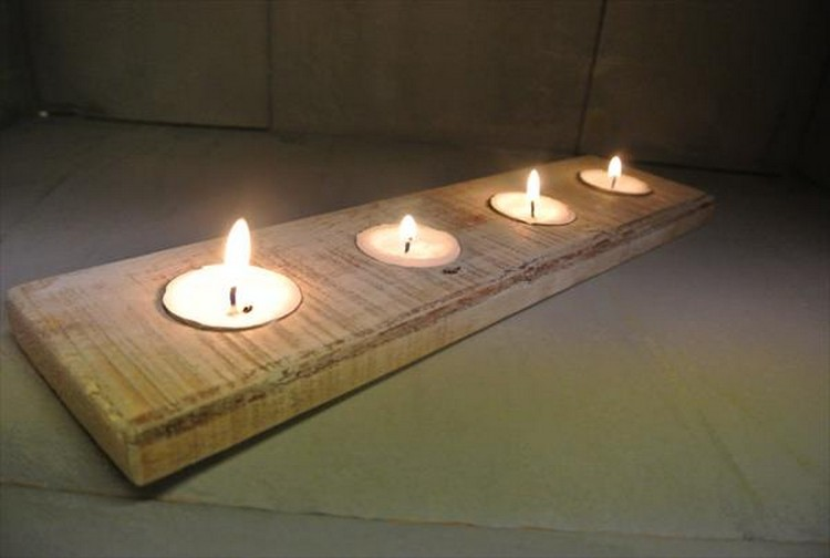 Conosciuto Composizioni di pallet con candele! Ecco 17 idee SX51