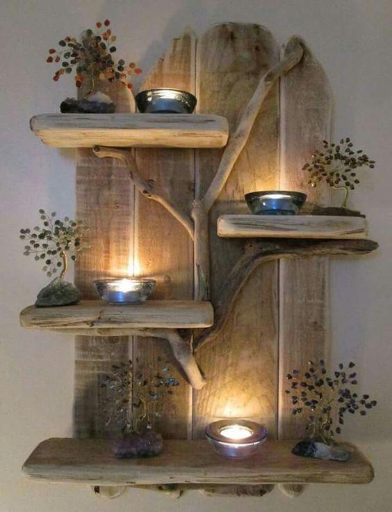 Estremamente Composizioni di pallet con candele! Ecco 17 idee WU73