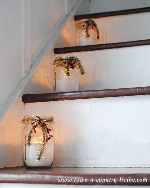 Riciclare i barattoli di vetro per Decorare a Natale