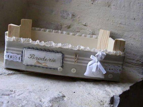 Decorare le cassette della frutta ecco 20 modi per - Cajas de fresas decoradas paso a paso ...