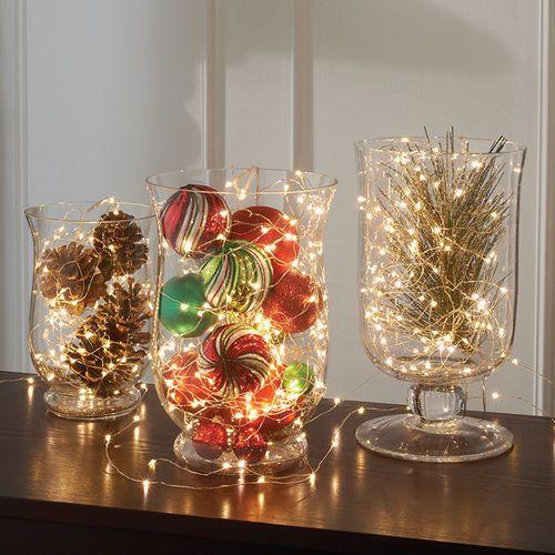 composizioni luminose per Natale