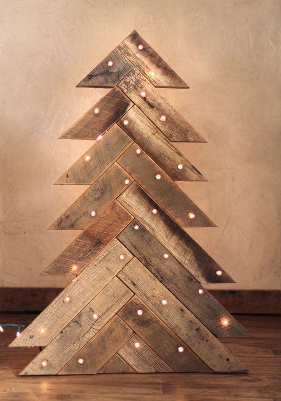 Decorazioni natalizie in legno lasciatevi ispirare 20 - Decorazioni in legno ...
