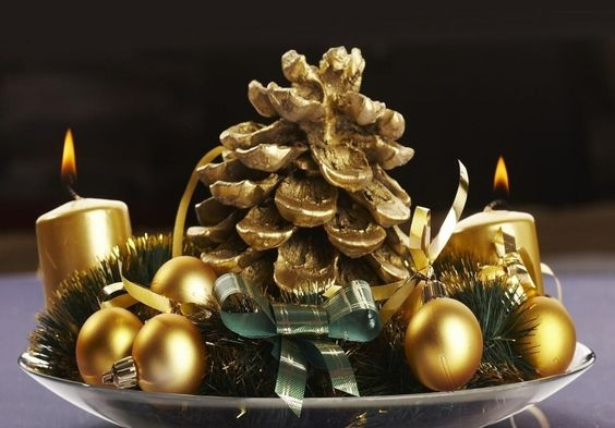 DIY beautiful Christmas Centerpieces