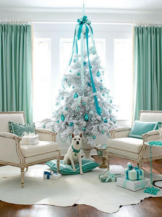 Natale in colore Turchese