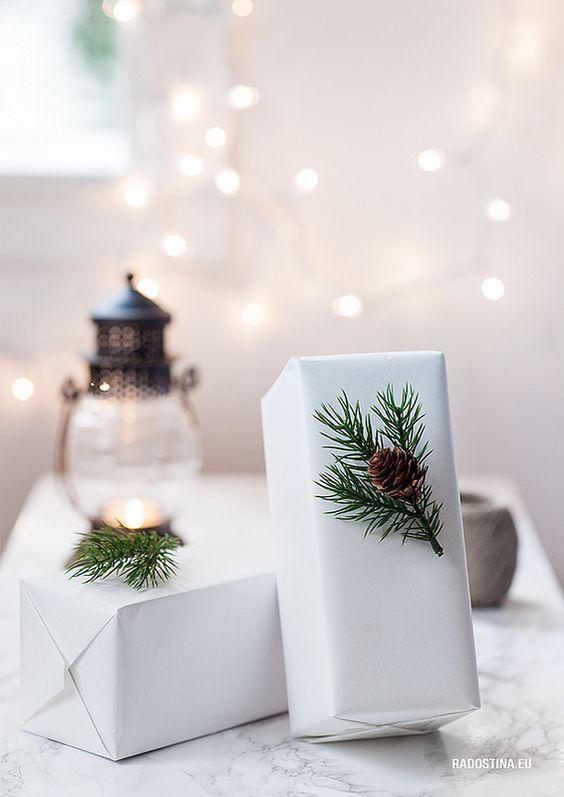 Un pacchetto regalo originale per Natale