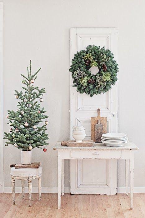 Decorare il Natale in stile Shabby Chic