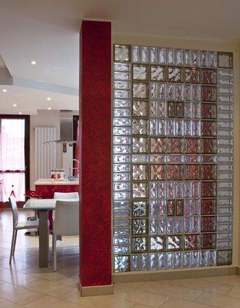 utilizzi originali del vetrocemento dentro casa 20 idee. Black Bedroom Furniture Sets. Home Design Ideas
