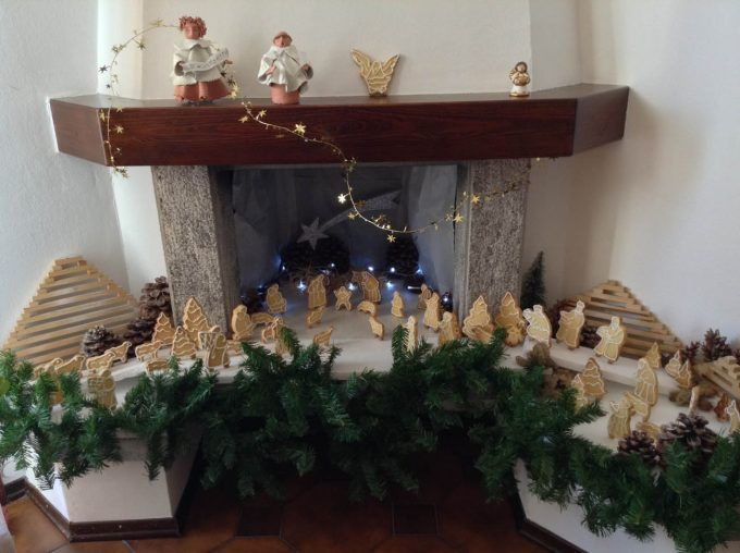 Molto Create the Christmas crib in the fireplace! 15 beautiful examples  NA55