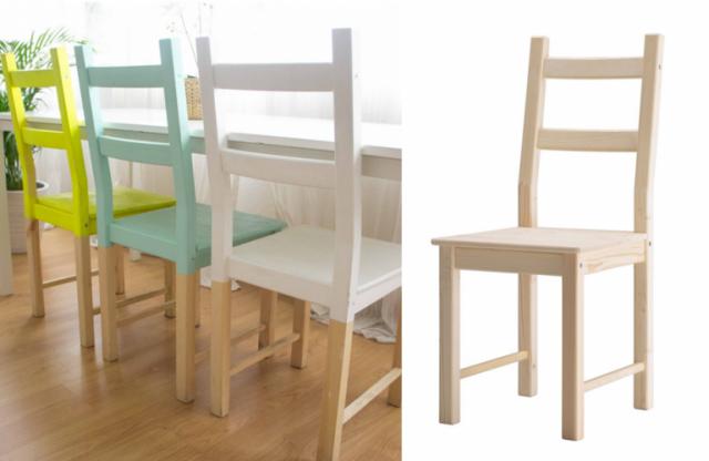 Dare un nuovo look ad una sedia