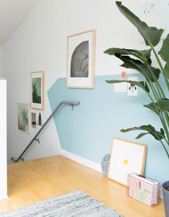 Excellent idee dipingere pareti di casa idee per dipingere - Idee per pitturare le pareti di casa ...