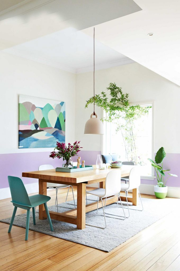 dipingere parete casa design 9