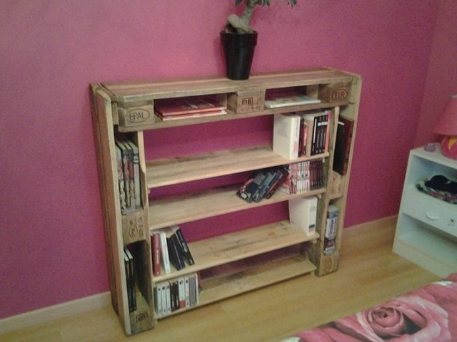 Mobili originali con pallet 20 idee video tutorial for Arredamento fatto con bancali