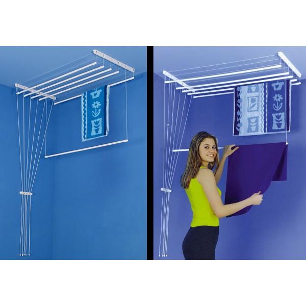 stendibiancheria intelligente ecco 20 idee salvaspazio. Black Bedroom Furniture Sets. Home Design Ideas