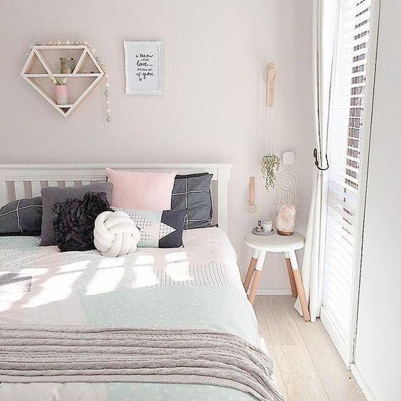 decorare camera con colori pastello 11