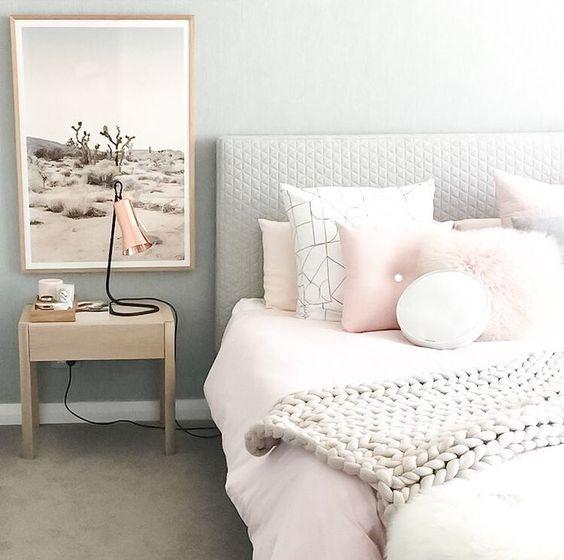 camera da letto con colori pastello ecco 20 idee per ispiravi. Black Bedroom Furniture Sets. Home Design Ideas