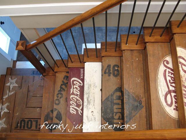 Decorare le scale con fantasia