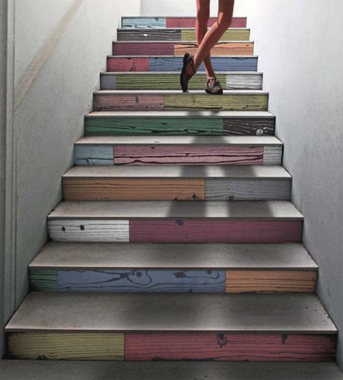 decorazione creative scale casa 21
