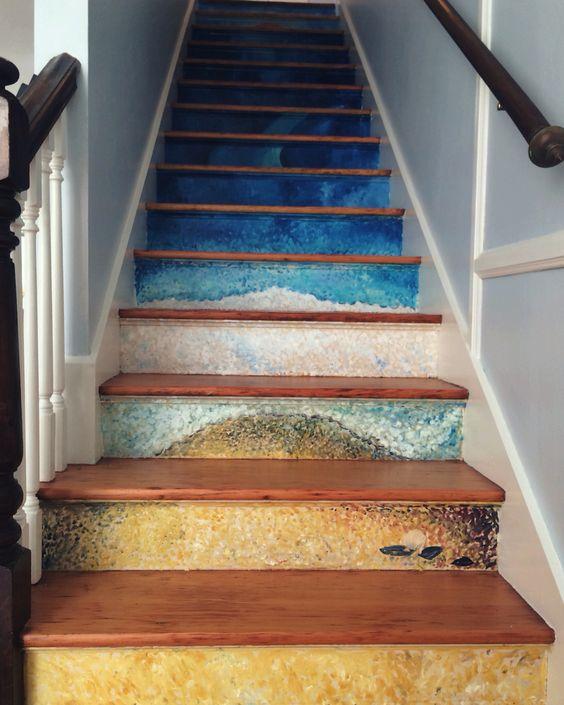 decorazione creative scale casa 3