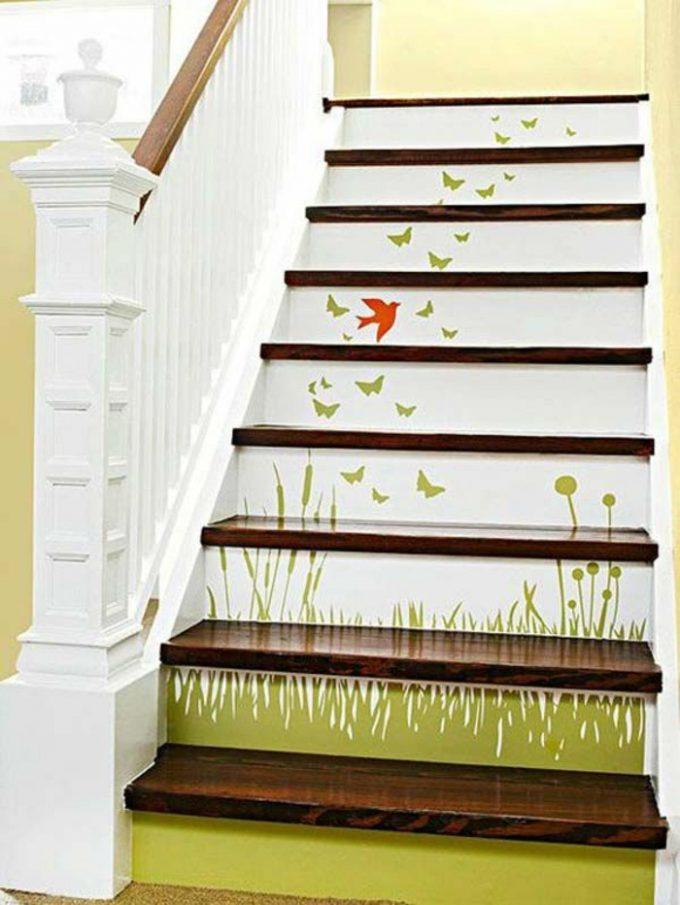 decorazione creative scale casa 9