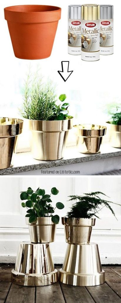 Decorare creativamente un vaso in terracotta