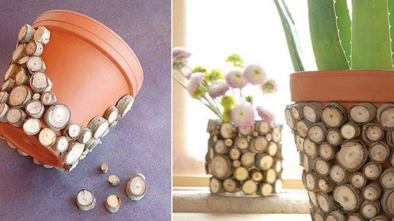 Decorare creativamente un vaso in terracotta
