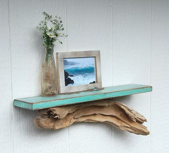 DIY chores with driftwood