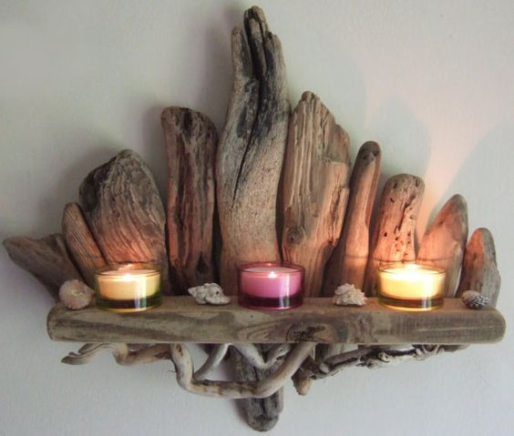 DIY decorations with Driftwood 4