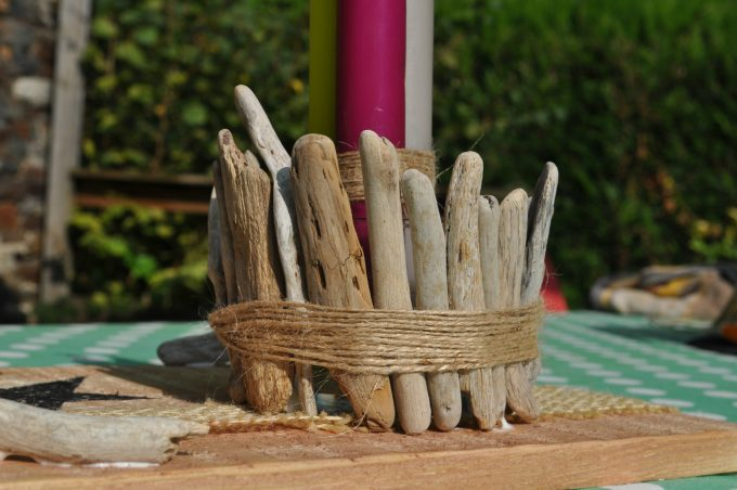 DIY decorations with Driftwood 8