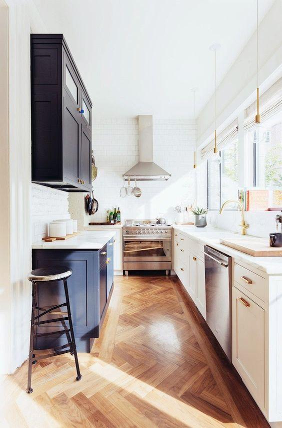 Arredare una cucina stretta e lunga