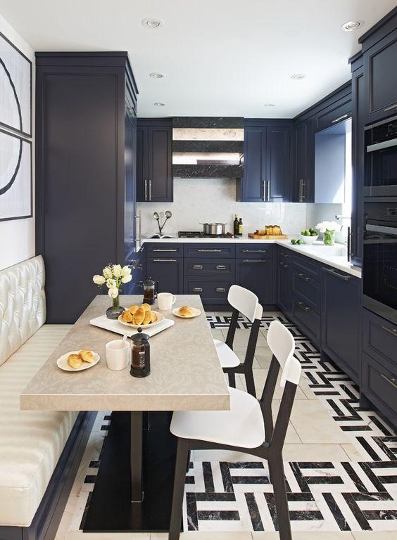 Arredare una cucina stretta e lunga ecco 20 esempi a cui ispirarsi - Idea arredo cucina ...